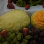 Carving - dekoracje z owoców i warzyw - Targi Ślubne Konin 2016