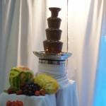 Fontanna czekoladowa - Targi Ślubne Konin 2016
