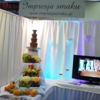 Targi Ślubne Konin 2016 - Bufet owocowy Impresji Smaku