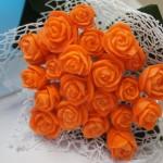Bukiet ślubny - carving