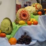 Dekoracja owocowa - Bufet owocowy - Targi Kalisz