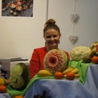 Dekoracja owocowa - Bufet owocowy - carving