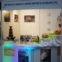 Stoisko Impresji Smaku - VI Targi Ślubne w Kaliszu