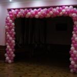 Balonowa brama - dekoracje balonowe