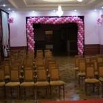 Brama z balonów, balonowy łuk, dekoracje balonowe