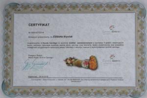 Certyfikat II Carving