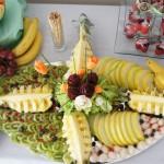 Taca z owocami, owocowa taca