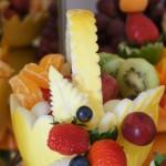 Koszyki owocowe, bukiety warzywne, carving