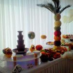 Bufet owocowy, fontanna czekoladowa Kalisz