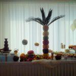 Bufet owocowy i fontanna czekoladowa