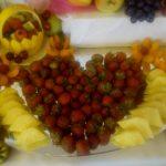 Dekoracje owocowe weselne