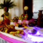 Stół z owocami na imprezę firmową, konferencję, wesele