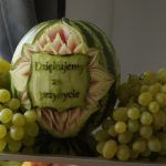 Carving, dekoracje w owocach