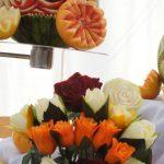 carving, bukiet z warzyw