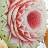 carving w arbuzie, warsztaty i pokazy