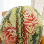 dekoracje owocowe, bufety owocowe