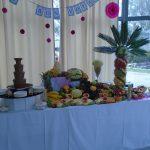 bufet owocowy aroma stone hotel sycow