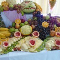 dekoracje owocowe carving aroma stone hotel sycow