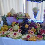 dekoracje owocowe carving palmy owocowe aroma stone hotel sycow
