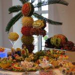 Fontanny czekoladowe, bufety owocowe, carving, Candy-Bar