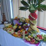 stol owocowy fontanna czekoladowa aroma stone hotel sycow