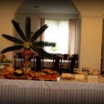 Bufet owocowy palma owocowa carving słodki stół Koło Turek Sompolno