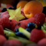 bufet owocowy owocowy stół-Dworek w Grabowie nad Prosną