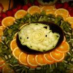 carving dekoracyjnie wycięte owoce Koło Turek Kalisz Poznań