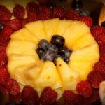 dekoracje owocowe owocowe stoły Dom Weselny Jola Kolnica k. Brudzewa
