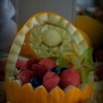 kosze owocowe carving Dworek w Grabowie nad Prosną