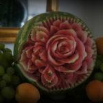 stół owocowy dekoracje w owocach Dworek w Grabowie nad Prosną