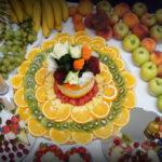 Bufet owocowy dekoracje owocowe Poznań Warszawa Koło Słupca Września