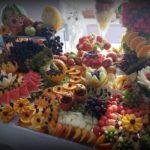 Bufet owocowy, dekoracje owocowe Zajazd u Kwiatków Sompolno