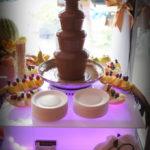 Fontanna czekoladowa bufety owocowe Września Słupca Koło