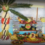 Palmy owocowe, dekoracje z owoców Koło, Turek, Kalisz