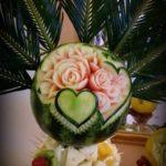 dekoracje owocowe, carving Turek, Koło, Koin, Kalisz