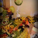 dekoracje owocowe, carving, palmy owocowe Turek, Sompolno, Ko�