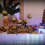 fontanna czekoladowa, palma owocowa, bufet owocowy Zajazd staropolski Tuek