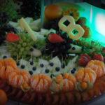 Dekoracje owocowe stół owocowy bufet owocowy fontanna czekoladowa Poznań Warszawa Kalisz Kłodawa Sompolno