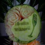carving dekoracje owocowe Koło Konin Turek Sompolno