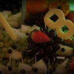 stół z owocami fontanna czekoladowa carving Kalisz Koło Turek Włocławek Sompolno