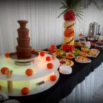 Fontanna czekoladowa, palma owocowa Ligrana Palace