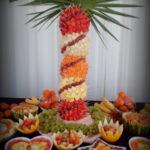 palma owocowa, dekoracje owocowe Koło, Turek, Kłodawa
