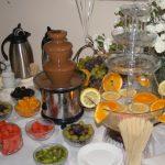 Fontanna z czekoladą i fontanna do napojów/soków/alkoholu