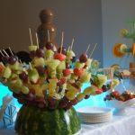Szaszłyki z owoców