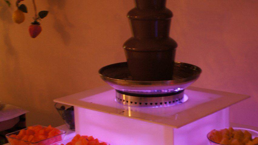 Fontanna z czekoladą na wynajem