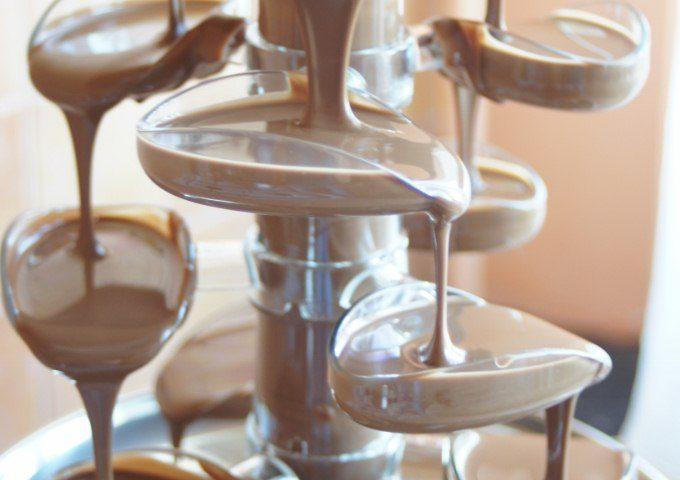 fontanna czekolady na małe przyjęcia
