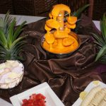 Pomarańczowe szaleństwo z fontanną Giulietta