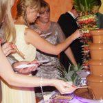 Owoce na palmie i strugi czekolady!