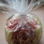 Figura carvingowa - róże w arbuzie